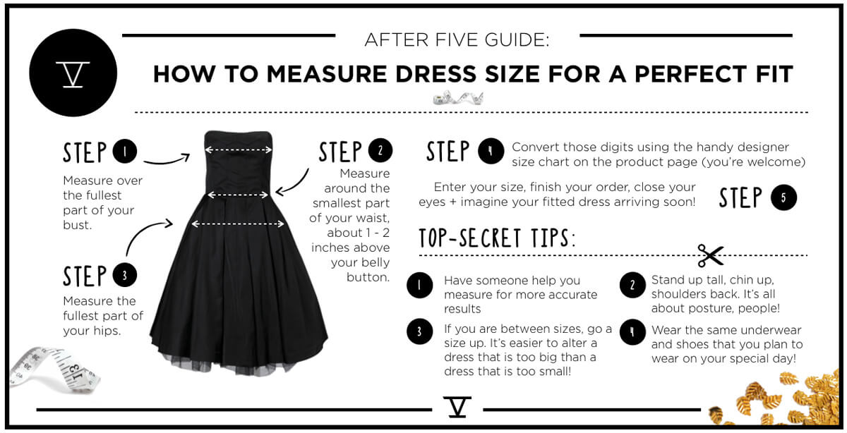 AfterFive Size Guide